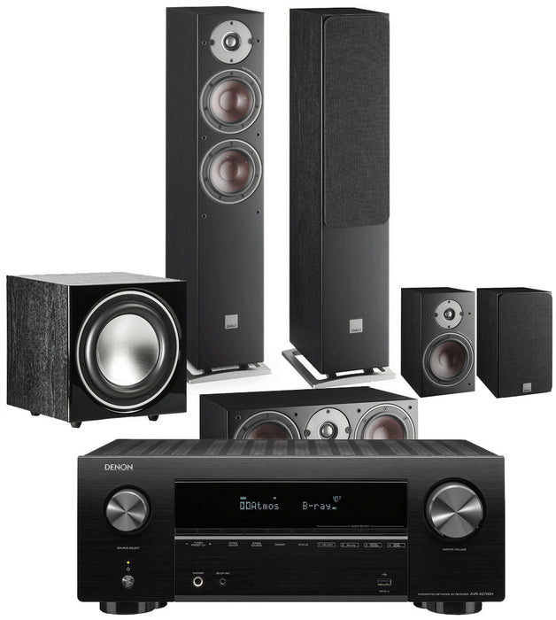 DALI Oberon 5 with DENON AVRX2700H 5.1 Home Cinema Bundle