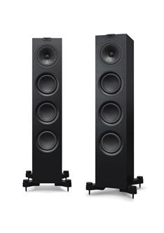 KEF Q550 Floorstand Speaker Pair, Satin Color (Multiple Colors) - Yorkshire AV LTD