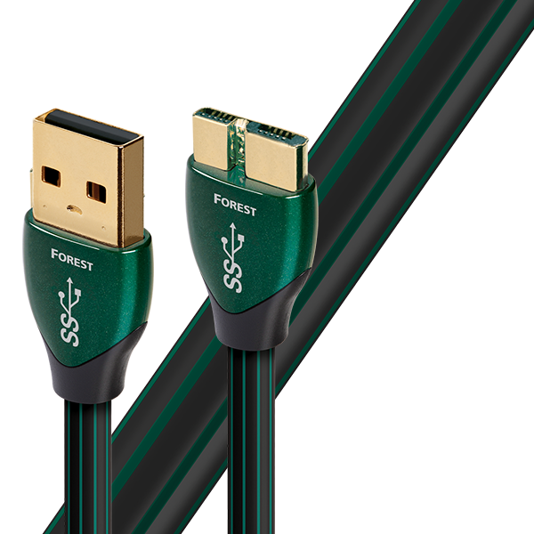 AudioQuest Forest USB 3.0 Type A to Micro B Data Cable - Yorkshire AV LTD