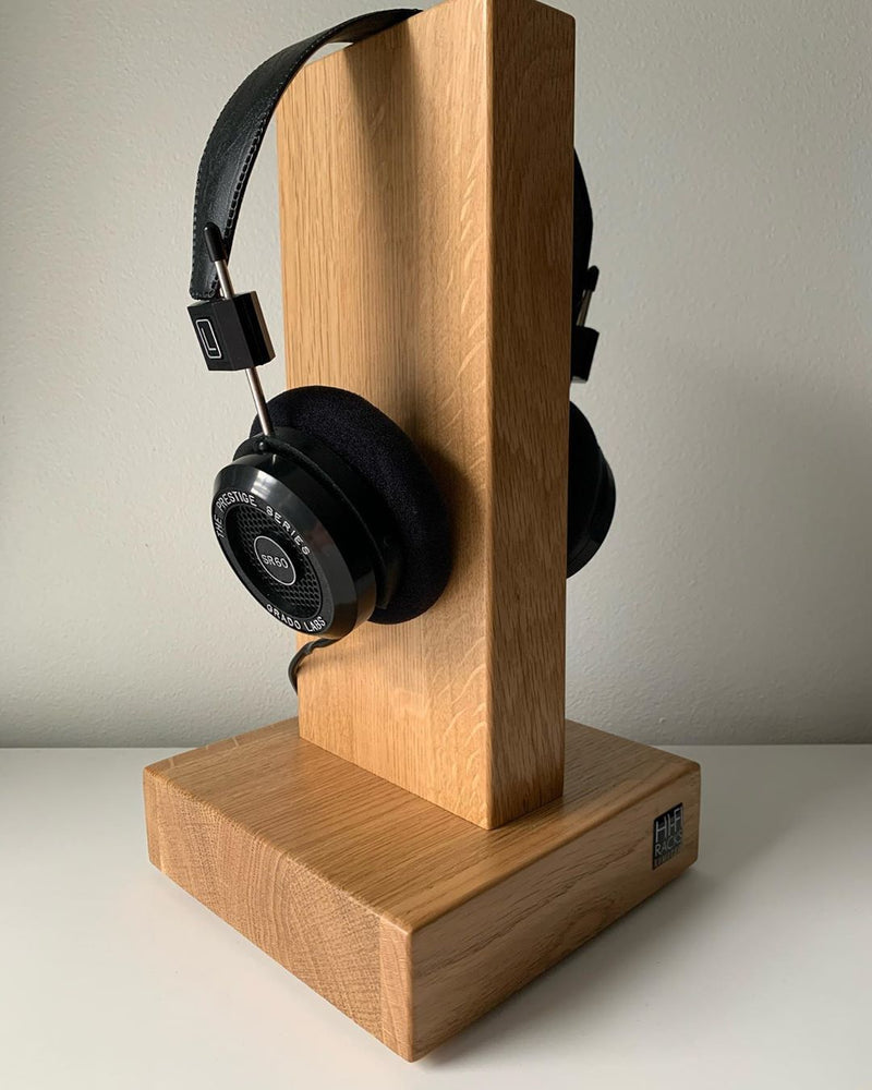 HiFi Racks Oak Headphone Holders