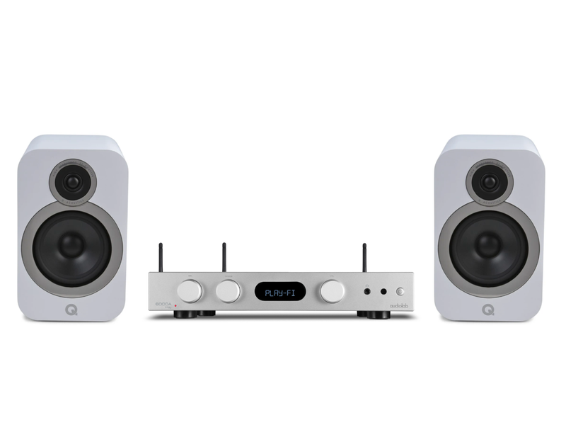Complete HiFi Package: AudioLab 6000A Play with Q Acoustics 3030i