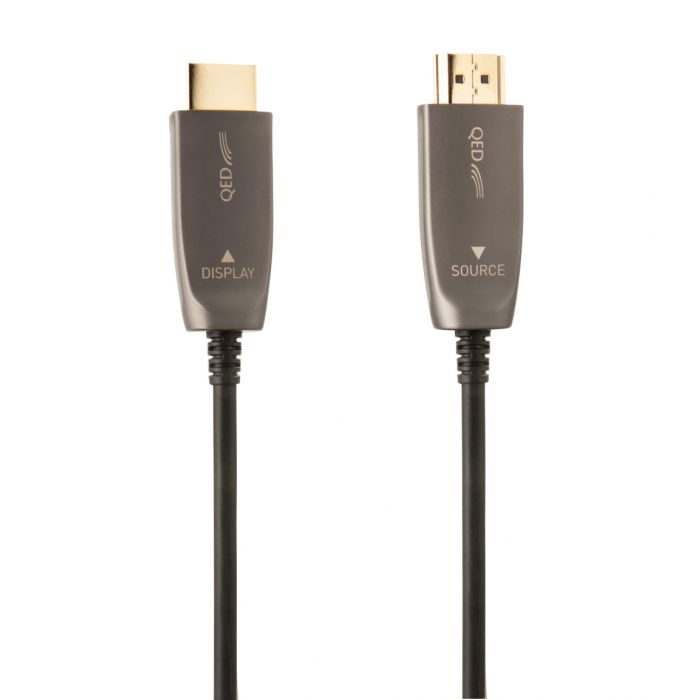 QED HDMI 2.1 8K Active Optical Cable - Yorkshire AV LTD
