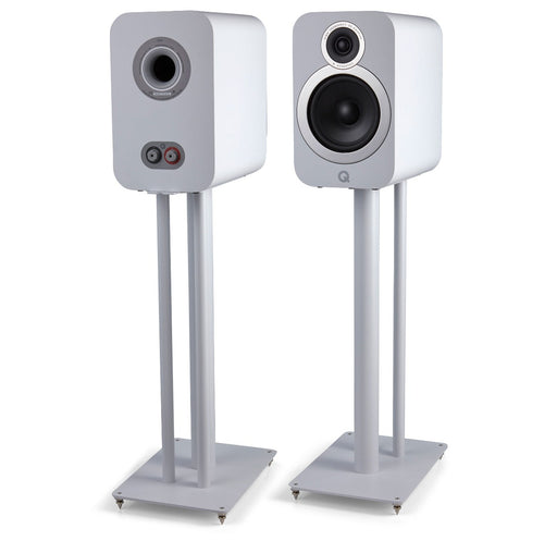Q Acoustics 3030FSi Floor Stands (White) - Yorkshire AV LTD