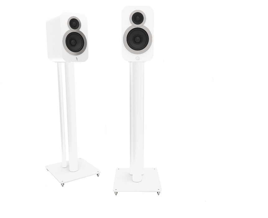 Q Acoustics 3000i Series Floor Stands Pair (White) - Yorkshire AV LTD
