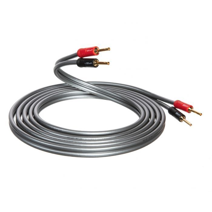 QED XT40i Pre-Terminated Speaker Cable Pair 5m - Yorkshire AV LTD