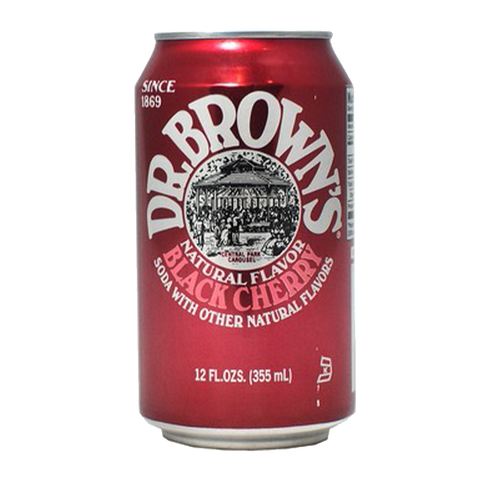 Dr Brown's Soda - Black Cherry