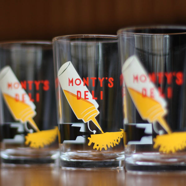 Monty's Deli Tumblers (set of 4)