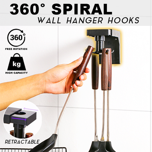 360° Spiral Wall Hanger Hook