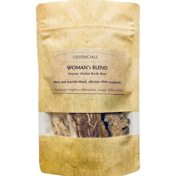 WOMAN's BLEND Herbal Broth and Soup Base (organic)