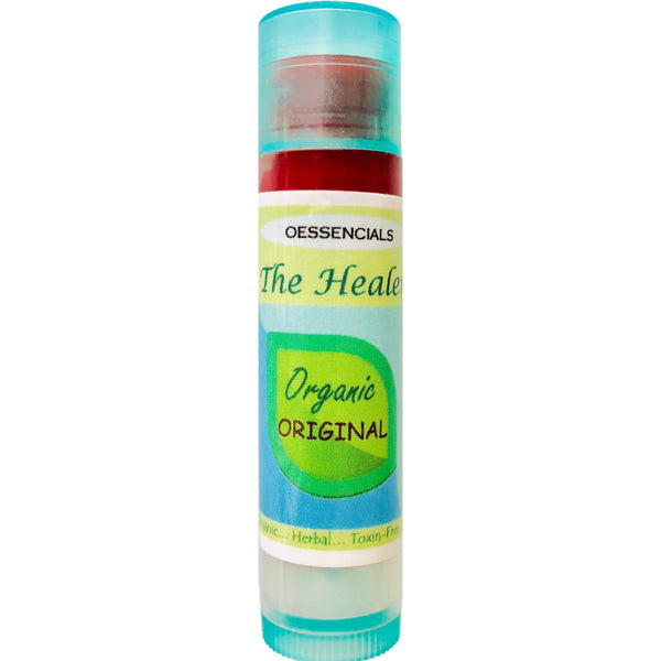 The Healer organic skin and lip balm (red)