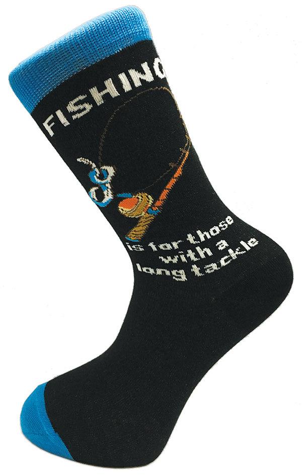 Premium Cotton Socks - Fishing