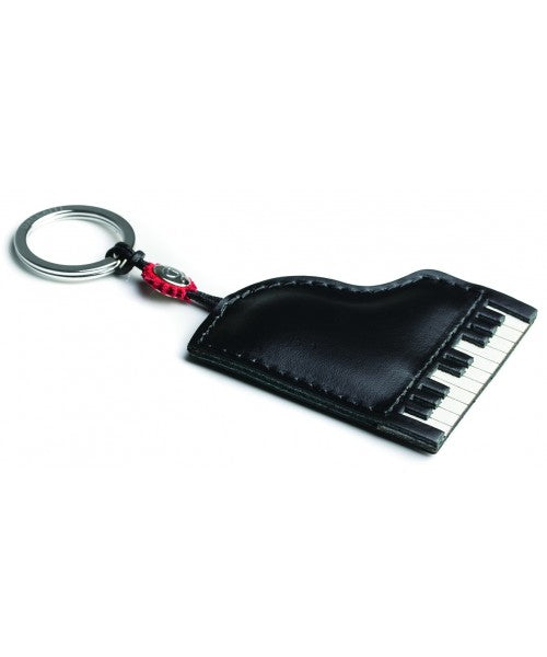 Leather Piano Keyring