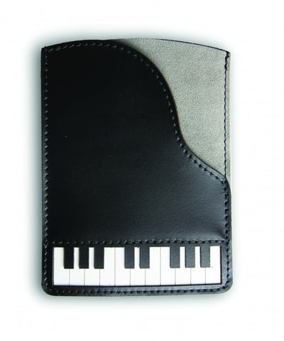 Leather Piano Passport Holder