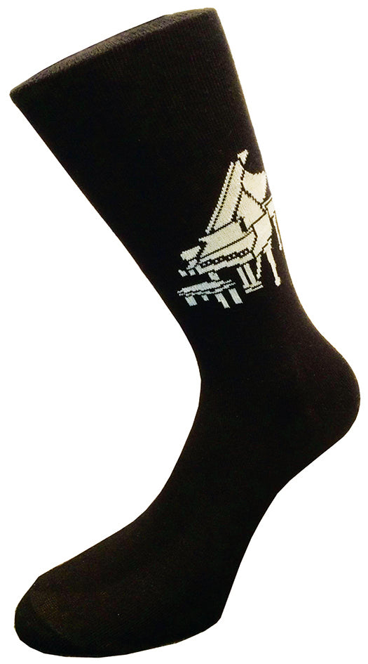 Premium Cotton Socks - Grand Piano
