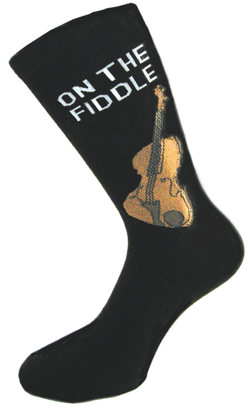 "Premium Cotton Socks - ""On the Fiddle"""