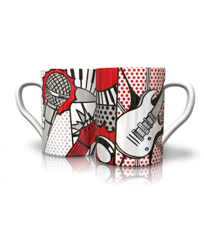 Premium Illustrated Music Mugs - Various Designs