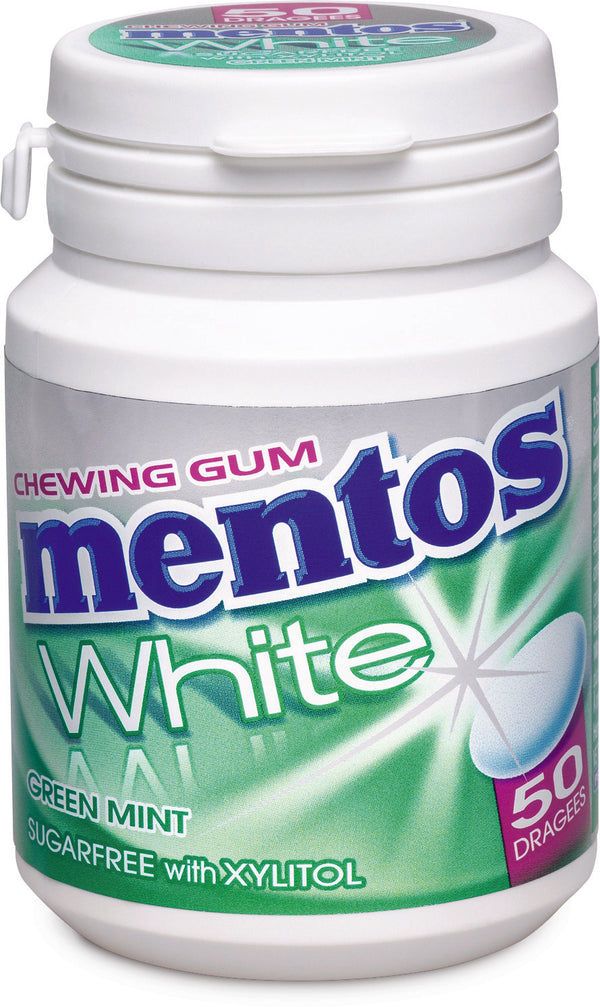 Mentos Gum White Spearmint 75G