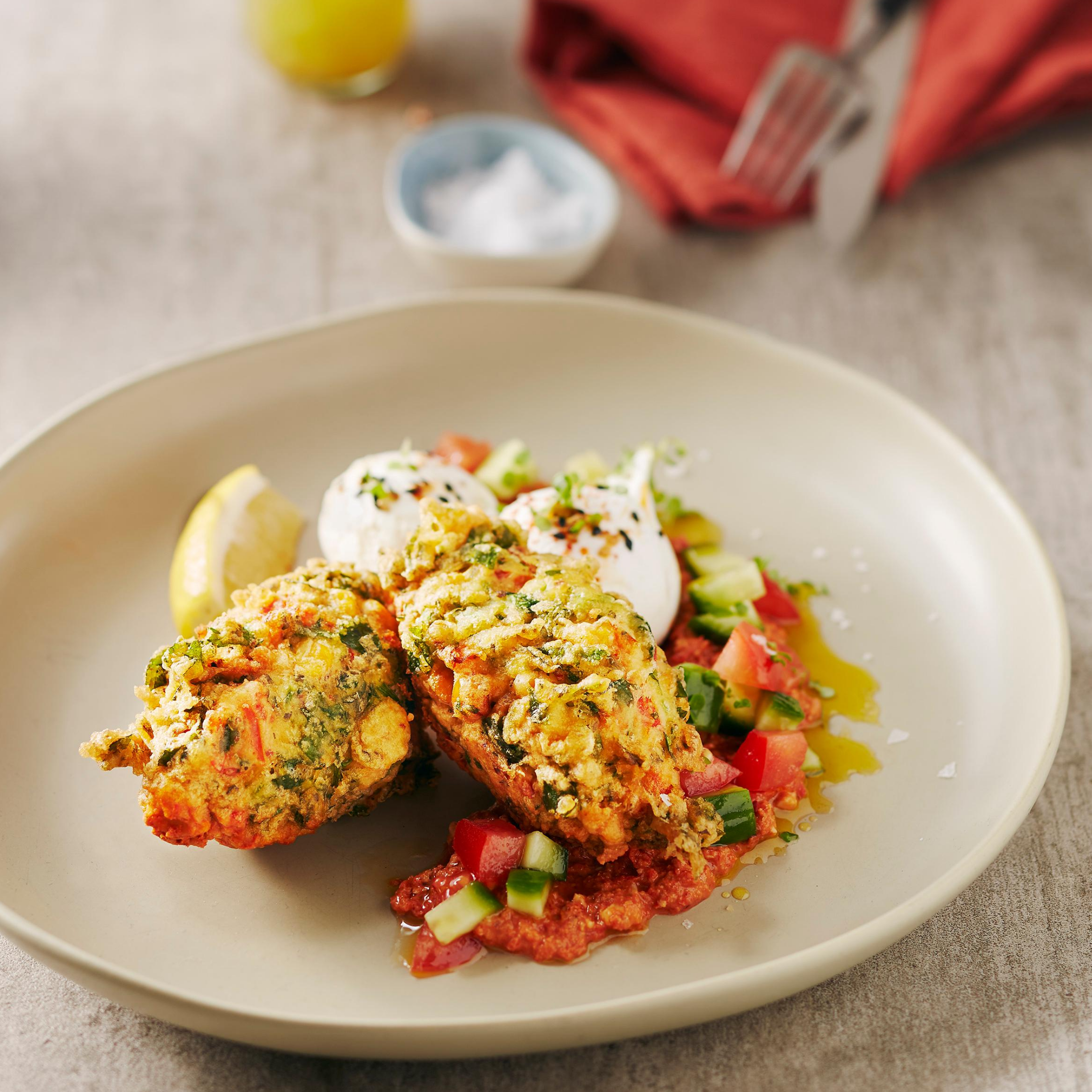 Quinoa & Corn Fritters Recipe
