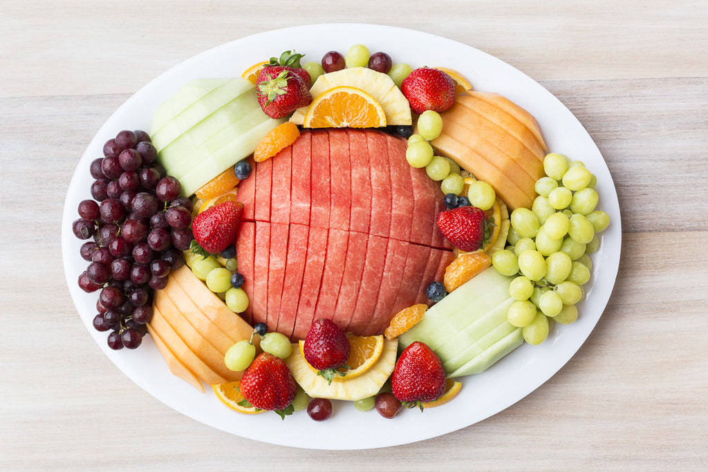Deluxe oval - Fruit platter