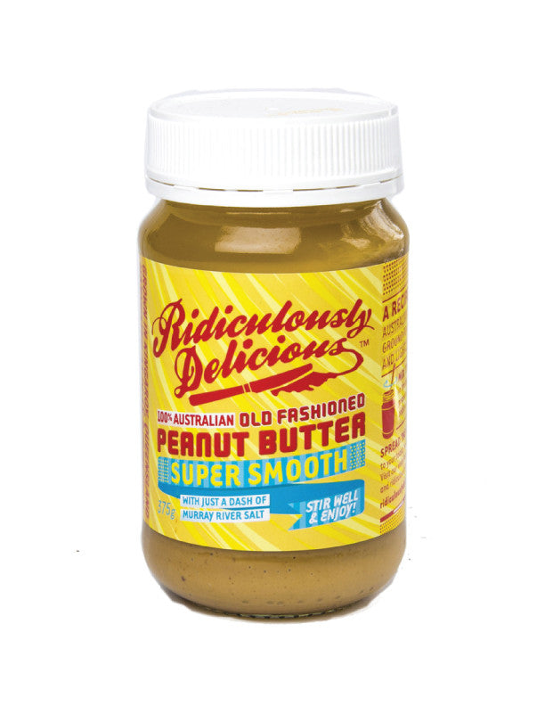 Delicious Peanut Butter Smooth 375G