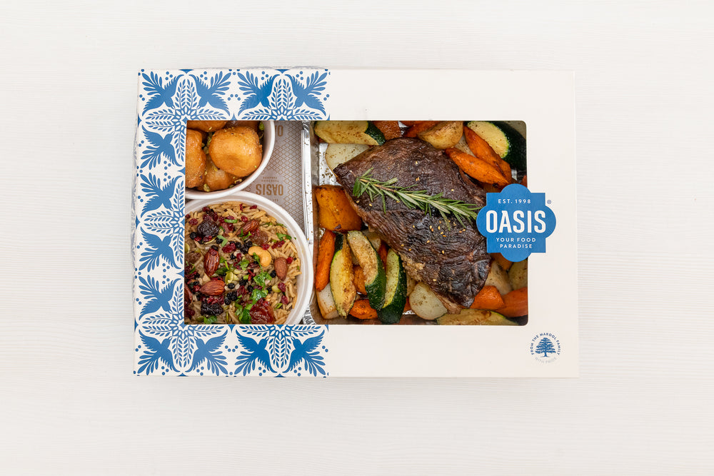 18 hour Slow Roasted Pomegranate Beef - Dinner Pack | Oasis
