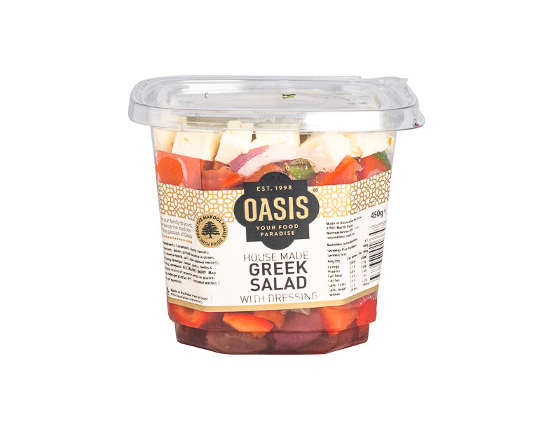 Greek Salad 450G - salads, ready to eat | Oasis