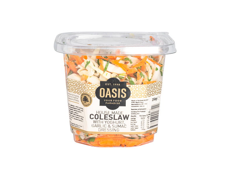 Coleslaw 250G - salads, ready to eat | Oasis