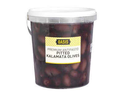 Kalamata Olives 600G Pitted - ready to eat | Oasis