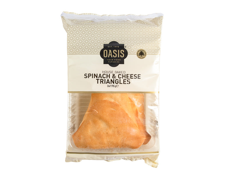 Spinach & Cheese 3X175g - Oasis