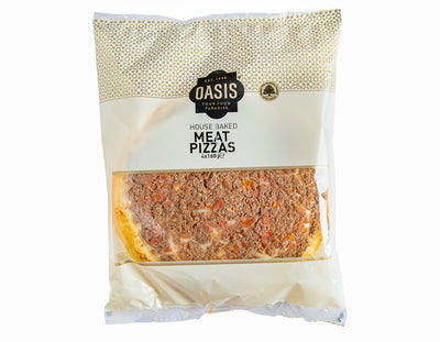 Meat Pizzas 4X160g - ready to eat | Oasis