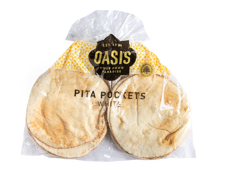 Pita Bread - Pockets 600G - bread | Oasis