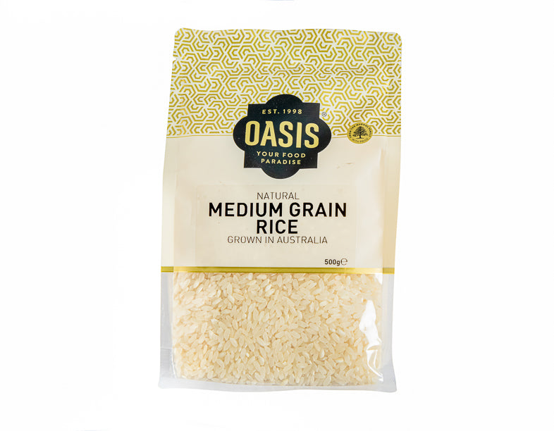Medium Grain Rice 500G - dry good | Oasis
