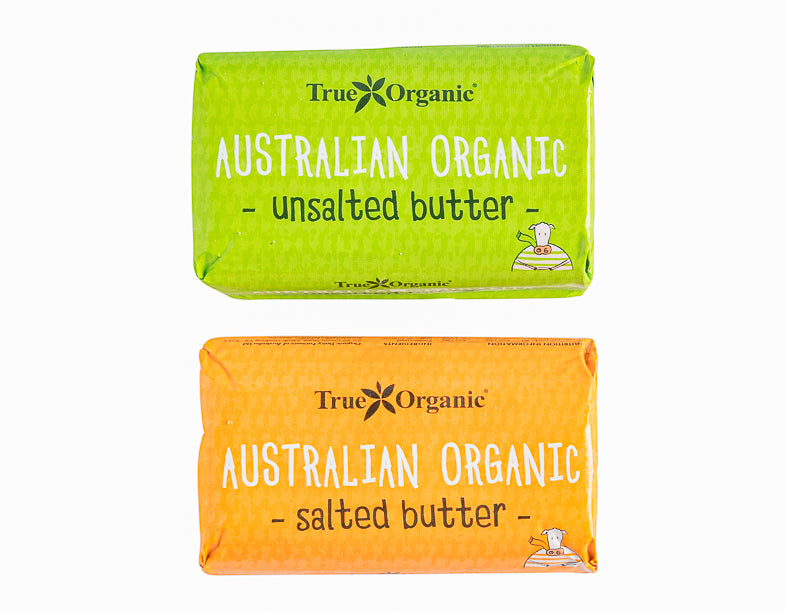 Organic Salted Butter salted/unsaletd 250G - Dairy & Eggs | Oasis