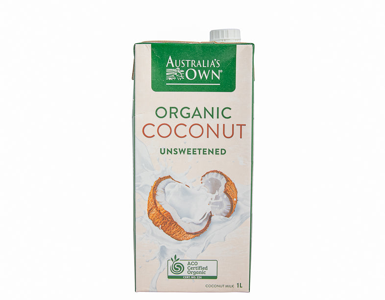 Aust Own Organic Coconut Milk 1Ltr - Dairy & eggs | Oasis