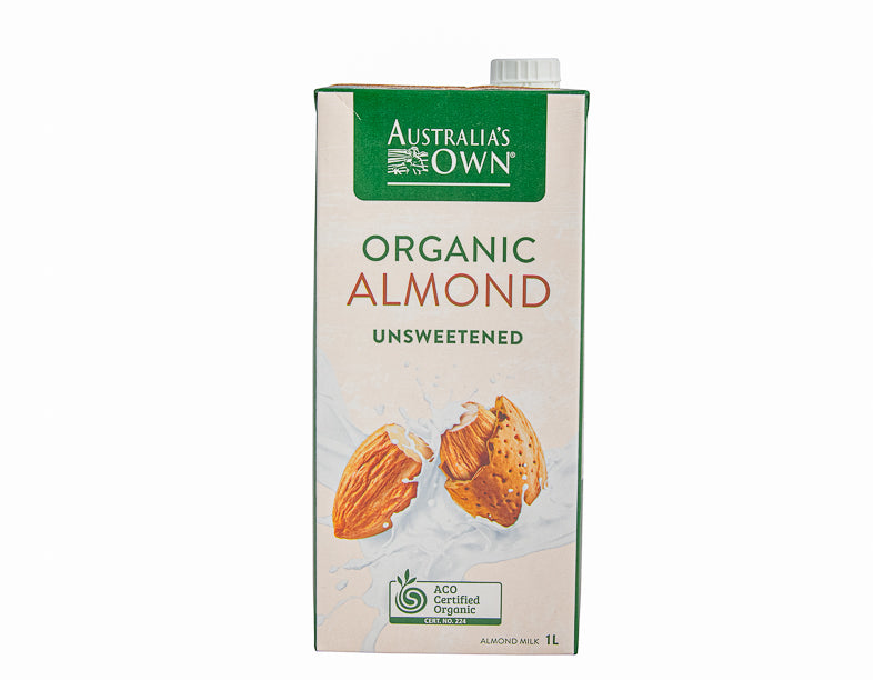 Aust Own Organic Almond Milk 1Lt - Dairy & eggs | Oasis