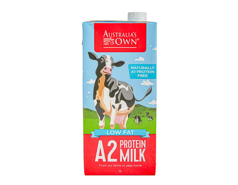 Aust Own Low Fat Protein Milk 1Ltr - Dairy & eggs | Oasis