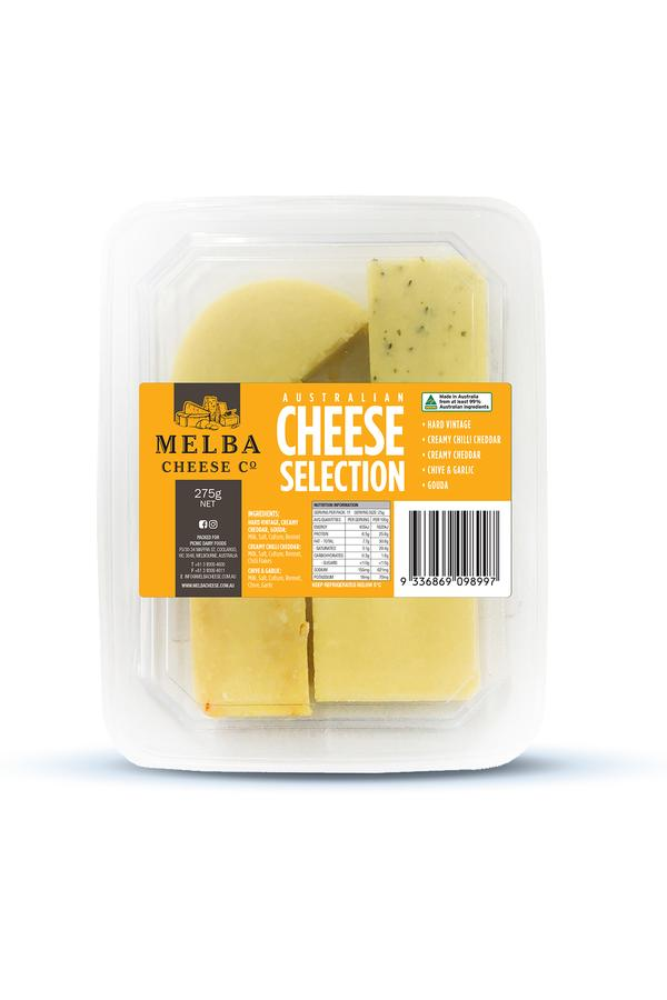 Melba Cheese Selection 275g - Dairy & Eggs | Oasis