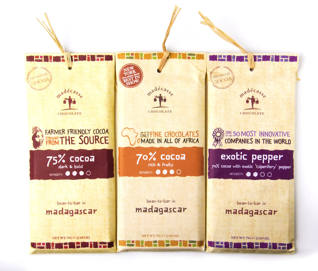Madagascar African Chocolate 75G