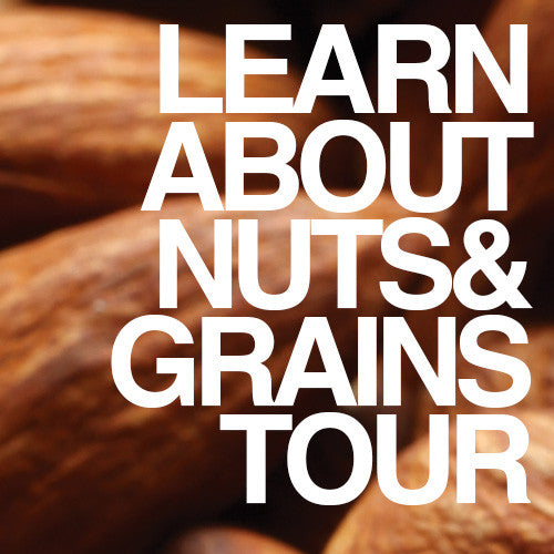 Oasis Grocery Store Tour - NUTS & GRAINS - No Tour Scheduled