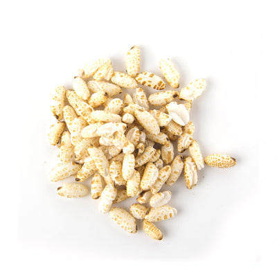 Puffed Brown Rice 100G - Grains | Oasis