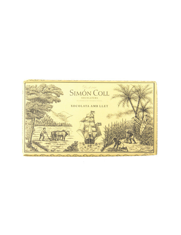 Simon Coll Milk Chocolate 200G