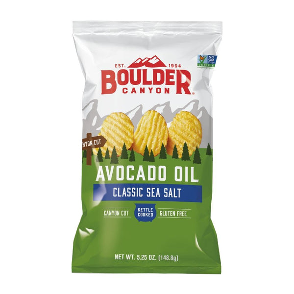 Boulder Canyon Avocado Oil Chips Ranges 148.8G - Snacks | Oasis