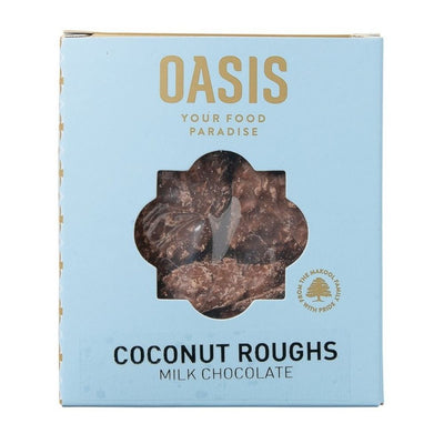 Oasis Coconut Roughs 150G - Milk Chocolate - Nuts and Dried Fruit | Oasis