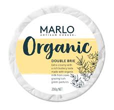 Marlo Organic Double Brie 200g - Dairy & Eggs | Oasis