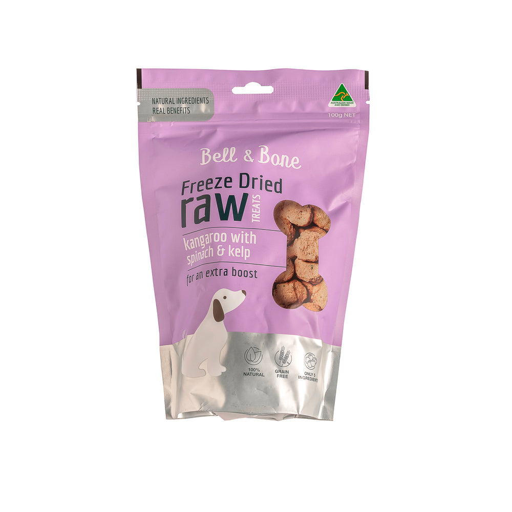 Freeze Dried Raw Treats 100G - Bell & Bone - Pet Foods | Oasis