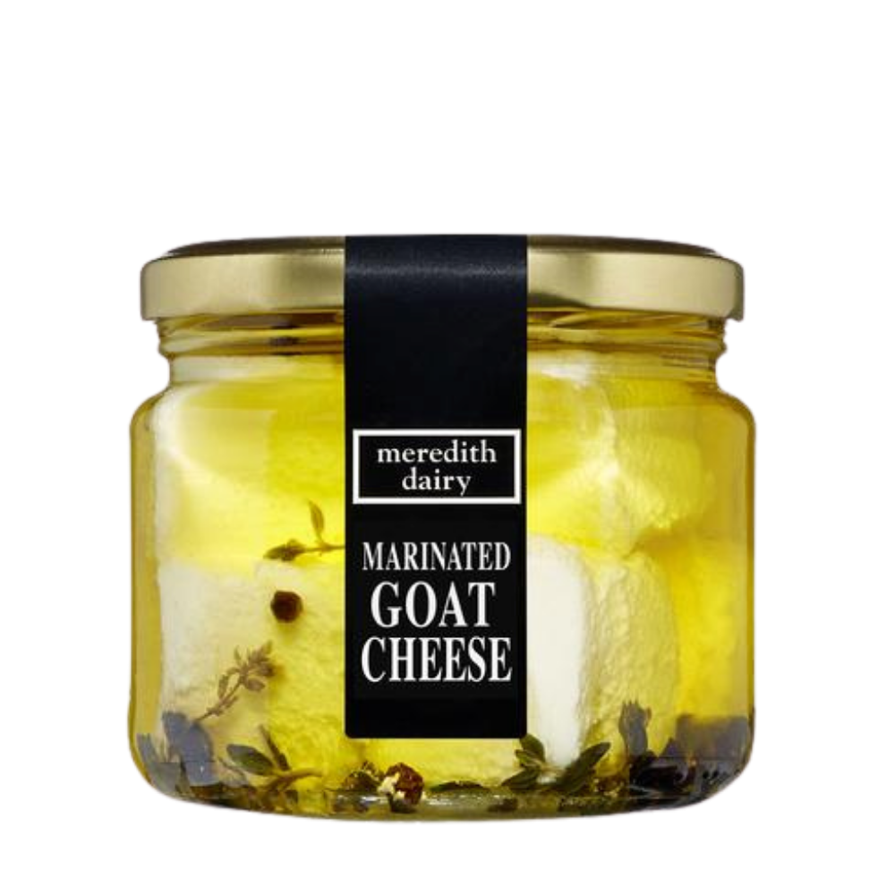 Marinated Goat Cheese 320G - Meredith Dairy - Dairy & Eggs | Oasis
