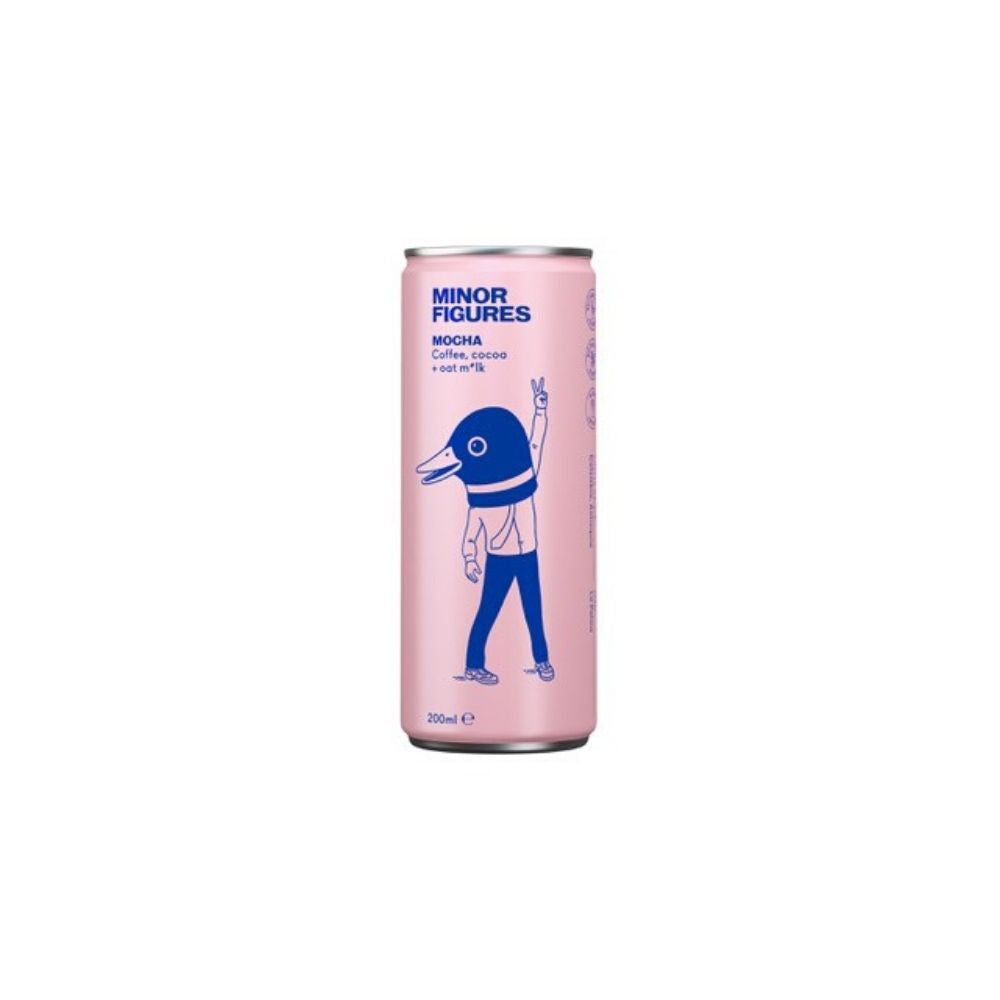 Minor Figures Nitro Cold Brew Mocha 200ML - Beverages | Oasis