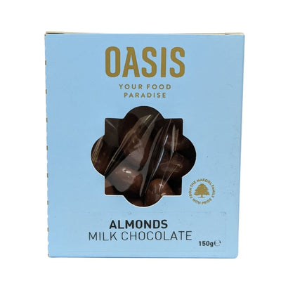 Oasis Australian Almonds Milk Chocolate 150G - Nuts and Dried Fruit | Oasis