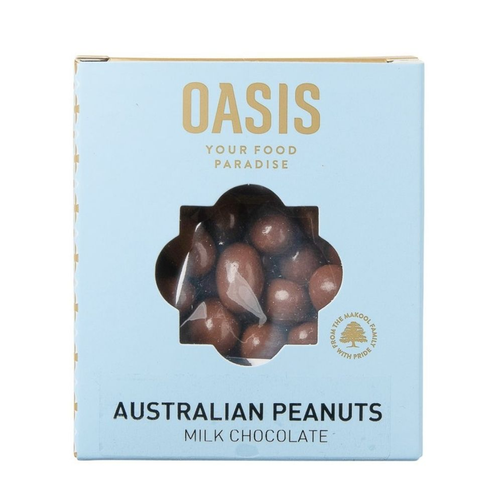Oasis Australian Peanuts Milk Chocolate 150G - Nuts and Dried Fruit | Oasis