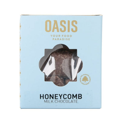 Oasis Honeycomb Milk Chocolate 100G - Nuts and Dried Fruit | Oasis